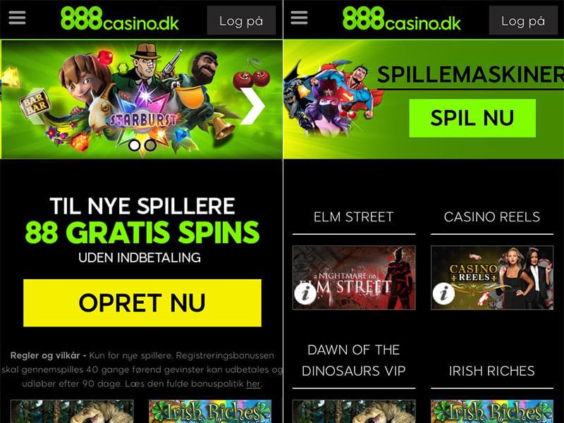 888 casino web app